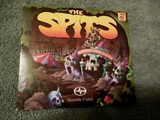 The Spits Haunted Fang Castle CD Scion 2010 JJ Rudisill Art