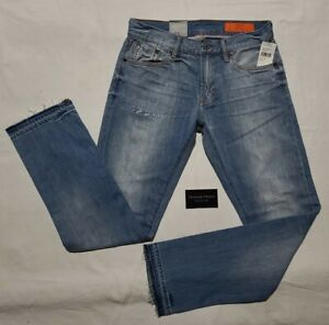 """JEAN SHOP Selvedge JEANS """"Mick"""" Distressed NWT  (Retail $195) Deadstock"""