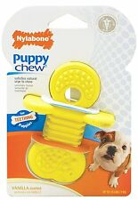 NYLABONE PUPPY RHINO CHEW PACIFIER COLOR VARY ONLY DOG TOY UP TO 15 LB FREE SHIP