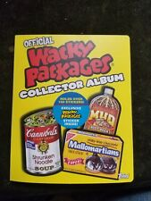 2006 Topps Wacky Packages Collector Album Full of Cards +Stella Dorko & 2 Foils