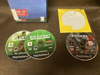 2 Ps2 Metal Gear Solid 3: Subsistence + Snake Eater Discs Only - PlayStation 2