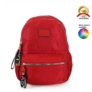 Backpack Classic Woman Girl Suitable S-Medium size Silky Nylon
