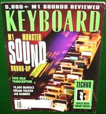5000 KORG M1 Sounds Rev., FATAR STUDIO Jean-Michel Jarre, 1993 Keyboard Magazine