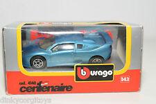 BBURAGO BURAGO 4140 CENTENAIRE METALLIC BLUE MINT BOXED