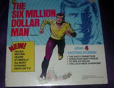 THE SIXMILLION DOLLAR MAN  VOL. 2.  POWER RECORD LP  STORIES  SEALED  1976