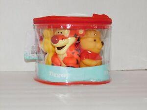 Winnie Pooh & Friends Squirter Bath Toys Piglet Eyeore Tigger