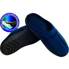 New Remedy 80-85085M Therapeutic Memory Foam Slippers - Medium