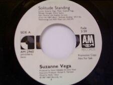 "SUZANNE VEGA ""SOLITUDE STANDING / SAME""  45 PROMO MINT"