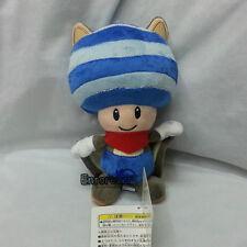 "Super Mario Bros 8.5"" musasabi flying squirrel blue toad Plush Doll Toy^MX2145"