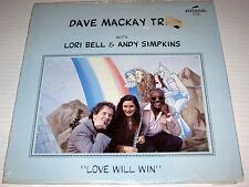SEALED Dave Mackay Trio w/Lori Bell & Andy Simpkins LOVE WILL WIN Discovery