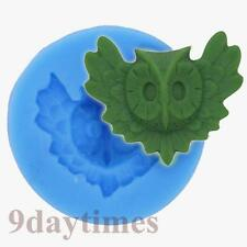 Night Awk Cabochon Polymer Clay Mold Food Grade Silicone Fimo Mould 30mm A395