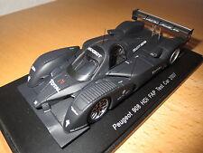 (S 1271) Peugeot 908 HDI FAP Test Car Le Mans 2007,schwarzmatt,1:43,SPARK,ovp