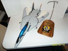 Motion Models F-14 Jolly Rogers Tomcat Navy Fighter Jet Plane 1/18? Big   E10