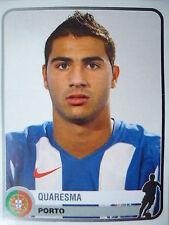 Panini 293 Quaresma FC Porto Champions of Europe 1955-2005