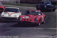 FERRARI 250 GT0 COLOUR MATT PHOTOGRAPH BGX 4B STUNNING ORIGINAL LARGE FOTO