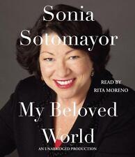 Sonia Sotomayor: My Beloved World - Unabridged Audiobook -10 Cds NEW & SEALED