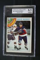 1978-79 O-PEE-CHEE Mike Bossy RC rookie Graded KSA8.5