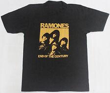 Vintage 1980 Ramones 50/50 End Of The Century Punk Rock Tour Concert T-Shirt