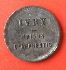 France - Rare Jeton  de IVRY - Maison d'Apprentis  - EMC 10