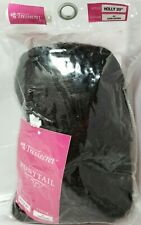 """Tressecret Holly 20"""" dark Brown ponytail synthetic hair wig new Pony Tail"""