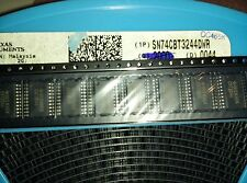 5x TEXAS INST. SN74CBT3244DW , Bus Switch 2-Element CMOS 8-IN , SOIC-20