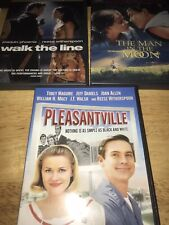 Reese Witherspoon 3 Dvd Lot: Pleasantville. Man In The Moon. Walk The Line.