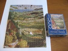 """VINTAGE TUCO DELUXE PICTURE PUZZLE """"COMMUNICATION IN ACTION""""  300-500 PCS."""