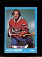 1973-74 TOPPS #137 JACQUES LAPERRIERE VGEX CANADIENS  *X2253