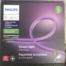 NEW SEALED Philips Hue White & Color Ambiance Lightstrip Outdoor 6.5ft *LOWEST $