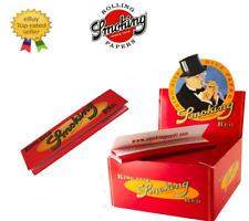 Smoking Red King Size Slim Rosso Scatola Box Da 25 / 50 Libretti 33 Cartine