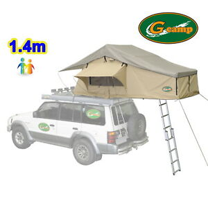 G CAMP 1.4m EXT ROOF TOP TENT TRAILER 4WD 4X4 CAMPING CAR RACK CAMPER