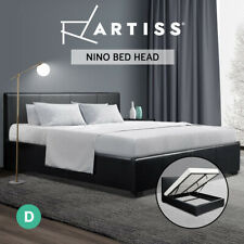 Artiss Bed Frame Double Full Size Gas Lift Base With Storage  Leather