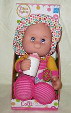 "Goldberger Plush pink 14"" doll Loll + bottle blue eyes Thumb sucker New Tags Toy"
