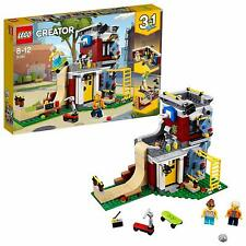 LEGO 31081 Creator 3-IN-1 Modular Skate House Games Arcade And Corner Cafe Set