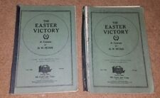 Antique 1927 Lot 2 The Easter Victory Cantata Lorenz Publishing Church Choir