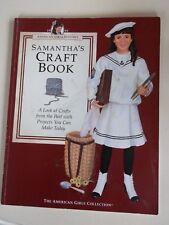 American Girl Samantha's Craft Book