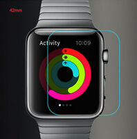 For Smart Apple Watch 42mm Thin Tempered Glass LCD Screen Protector Film 9H
