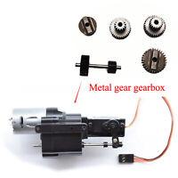 Metall Gear Speed Change Getriebe Upgrade Motor Set Für WPL B14 B16 B36 C24 C34