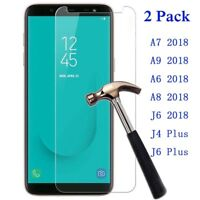 Tempered Glass Screen Protector for Samsung Galaxy A7 A8 A9 A6 2018 J6 J8 S6 S7
