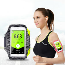 Luminous Lycra Jogging Sport Armband Mobile Phone Holder For iPhone Samsung Sony