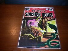 SECERTS  OF  SINISTER HOUSE  # 14      year  1973.