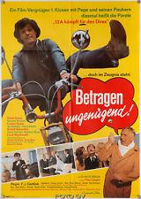 Original-Filmplakat Betragen ungenügend! Lümmel # 7 Hansi Kraus Theo Lingen