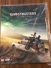 """New LEGO Ghostbusters Ecto-1 5006632 VIP Afterlife Poster Only- SOLD OUT 10""""x13"""""""