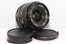 CANON FD 28mm 2,8 Obiettivo Grandangolo Reflex A-1 AE-1 AV-1 |Anche x Digitali|