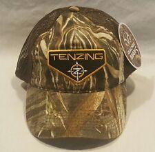 New Tenzing Camo Realtree Max-5 Mesh Velcro Adjustable Hat/Cap Hunting