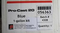 Pro-Cast Fast Cast Urethane CASTING ART RESIN 1 GAL 20# kit Blue 2 part
