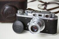 FED 1 Soviet Rangefinder Camera film 35mm with FED 50mm lense Russian Leica Copy