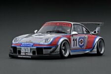 ignition model IG1952 1:18 RWB 993 Silver/Red #11
