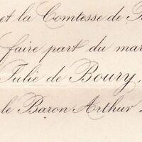 Julie Aubourg De Boury 1875 Arthur Charles Levavasseur