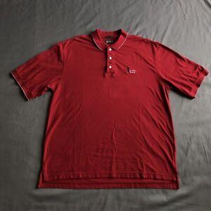 Vintage Buffalo Bisons Polo Shirt Red Medium Gear For Sport VTG 2000s MiLB